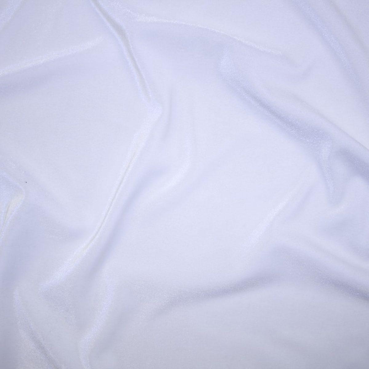 Velluto Liscio Bianco 614