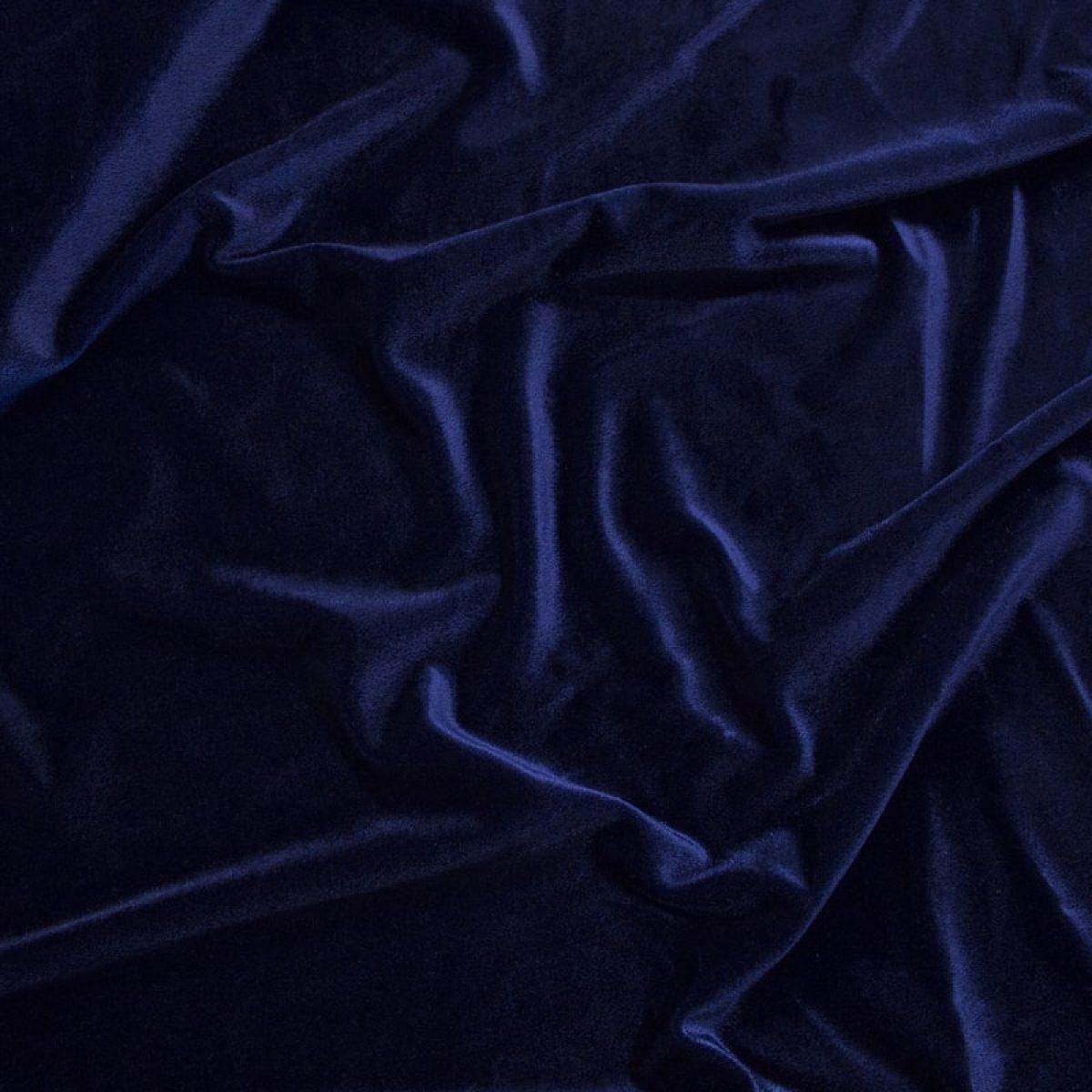 Velluto Liscio Blu 602